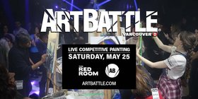 Art Battle Vancouver - May event @ The Red Room May 25 2019 - Jun 18th @ The Red Room