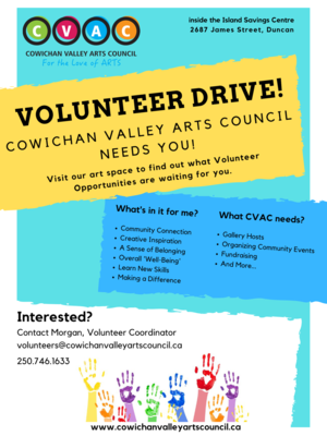 Gallery Hosts Needed for CVAC