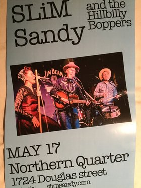 Slim Sandy and the Hillbilly Boppers @ Northern Quarter Visual Arts Exhibitions May 17 2019 - Dec 8th @ Northern Quarter Visual Arts Exhibitions
