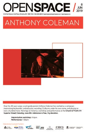 Anthony Coleman @ Church Of Truth Jun 8 2019 - Jul 16th @ Church Of Truth