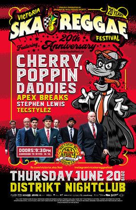 The Cherry Poppin' Daddies, Apex Breaks , Stephen Lewis , TecStylez @ Distrikt Jun 20 2019 - Sep 26th @ Distrikt