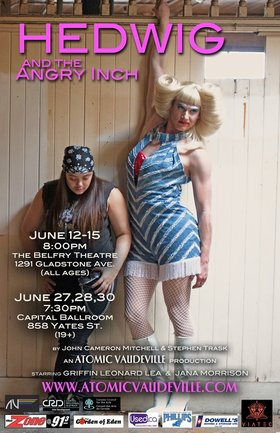 Hedwig and The Angry Inch @ Capital Ballroom Jun 27 2019 - Dec 11th @ Capital Ballroom