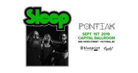 Sleep, Pontiak @ Capital Ballroom Sep 1 2019 - Oct 28th @ Capital Ballroom