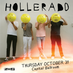 Hollerado, Little Junior @ Capital Ballroom Oct 31 2019 - Oct 20th @ Capital Ballroom