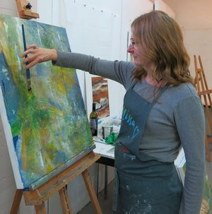 Studio Visit with Visual Artist Katharine Geddes