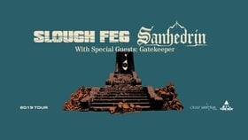 Slough Feg=, Sanhedrin=, =Void Vator=, Gatekeeper @ The Red Room Aug 6 2019 - Oct 14th @ The Red Room