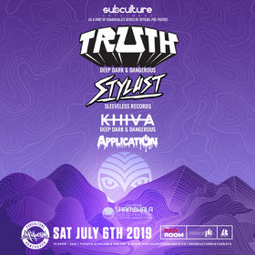 Shambhala 2019 Official Pre-Party Vancouver at SUBculture Saturdays @ The Red Room Jul 6 2019 - Aug 22nd @ The Red Room