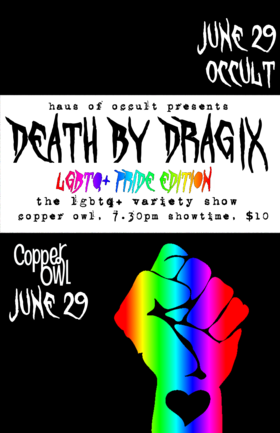 Death by Drag IX @ Copper Owl Jun 29 2019 - Dec 11th @ Copper Owl