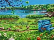 A Concert at Loon Bay Park by  Cory Scott