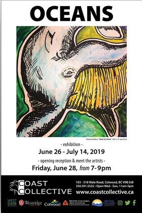Oceans @ Coast Collective Art Centre Jun 26 2019 - Dec 11th @ Coast Collective Art Centre