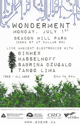 Wonderment: Binhex  (Nicole Goodman), Hasselhoff  (Quentin Rogers), Sabrina Dzugalo, Tango Lima @ Beacon Hill Park Jul 1 2019 - Dec 11th @ Beacon Hill Park