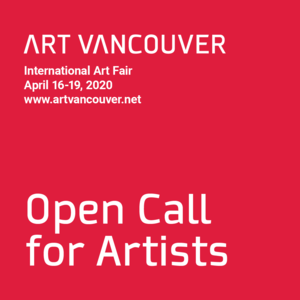 Art Vancouver 2020 Call for Artists