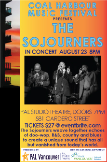 The Sojourners @ PAL Studio Theatre Aug 23 2019 - Oct 14th @ PAL Studio Theatre