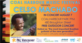 Celso Machado @ Coal Harbour Park Aug 7 2019 - Oct 14th @ Coal Harbour Park
