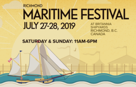Richond Maritime Festival: Lola Parks, Norine Braun @ Britannia Shipyards Jul 27 2019 - Dec 7th @ Britannia Shipyards