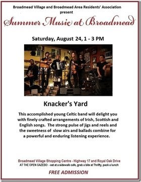 Knacker's Yard @ Broadmead Village Shopping Centre Aug 24 2019 - Jun 6th @ Broadmead Village Shopping Centre
