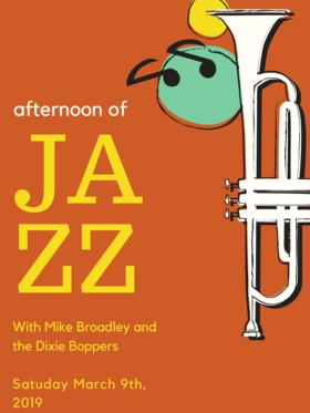 Mike Broadley's Going Away Party! With The Dixie Boppers @ Hermann's Jazz Club Aug 31 2019 - Oct 16th @ Hermann's Jazz Club