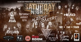 Saturday Nights Alright Concert @ The Red Room Aug 10 2019 - Oct 14th @ The Red Room