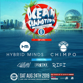 Ocean Commotion Vol.6 w/ Hybrid Minds & Chimpo Bass Music cruise @ The Red Room Aug 24 2019 - Oct 14th @ The Red Room