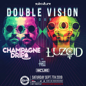 Wakaan Presents Double Vision Tour Ft Champagne Drip & Luzcid @ The Red Room Sep 7 2019 - Oct 15th @ The Red Room