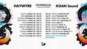 In Parallel tour: Koan Sound, Haywyre @ The Red Room Sep 14 2019 - Sep 22nd @ The Red Room