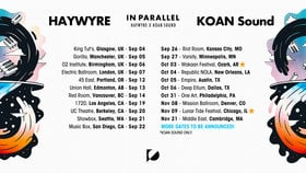 In Parallel tour: Koan Sound, Haywyre @ The Red Room Sep 14 2019 - Sep 17th @ The Red Room