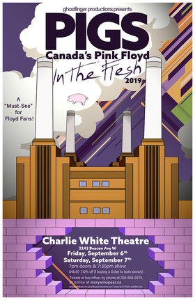 PIGS: Canada's Pink Floyd In the Flesh Tour: Pigs @ The Mary Winspear Centre Sep 6 2019 - Dec 7th @ The Mary Winspear Centre