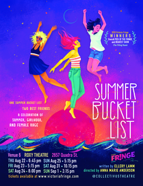 Summer Bucket List - Victoria Fringe @ Blue Bridge at the Roxy Sep 1 2019 - Aug 20th @ Blue Bridge at the Roxy
