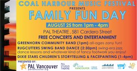 FAMILY DAY: Greenhorn Community Band, Rugcutters Swing Band, Dixie Stars Children