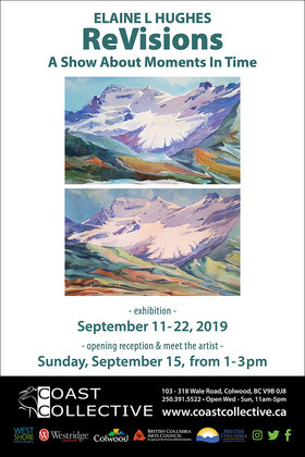 ReVisions: Elaine Hughes @ Coast Collective Art Centre Sep 11 2019 - Apr 4th @ Coast Collective Art Centre