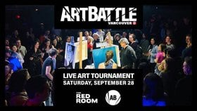 Art Battle Vancouver - SEPTEMBER @ The Red Room Sep 28 2019 - Oct 22nd @ The Red Room