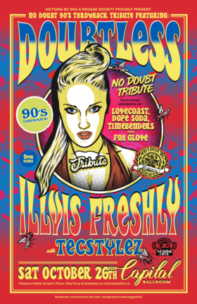 NO DOUBT 90s THROWBACK TRIBUTE: DOUBTLESS, Illvis Freshly, TecStylez @ Capital Ballroom Oct 26 2019 - Aug 9th @ Capital Ballroom
