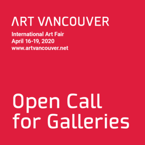 Art Vancouver 2020 Call for Galleries