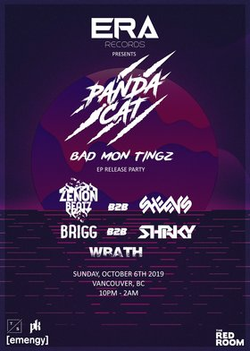 ERA Records: Panda Cat Bad Mon Tingz Ep Release Party @ The Red Room Oct 6 2019 - Oct 22nd @ The Red Room