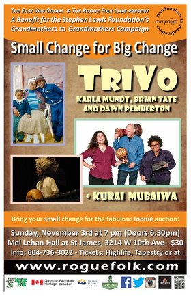 TriVo, Kurai Mubaiwa @ Mel Lehan Hall Nov 3 2019 - Feb 25th @ Mel Lehan Hall