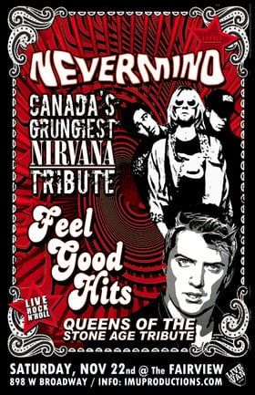 Nevermind, Feel Good Hits @ Fairview Pub Nov 22 2019 - Oct 19th @ Fairview Pub