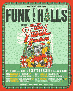 Funk the Halls: The Funk Hunters, Balkan Bump @ Capital Ballroom Dec 6 2019 - Aug 11th @ Capital Ballroom