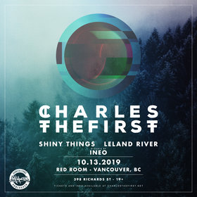 Digital Motion presents Charlesthefirst @ The Red Room Oct 13 2019 - Oct 22nd @ The Red Room