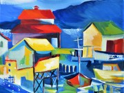Cowichan Bay by  Carolyn M McDonald