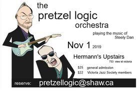 The Music of Steely Dan: Pretzel Logic Orchestra @ Hermann's Upstairs Nov 1 2019 - Apr 9th @ Hermann's Upstairs