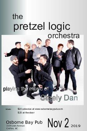 The music of Steely Dan: Pretzel Logic Orchestra @ Osborne Bay Pub Nov 2 2019 - Sep 17th @ Osborne Bay Pub