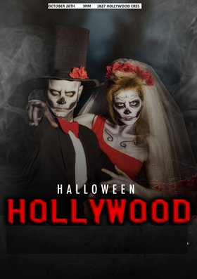 Halloween Hollywood: DJ Manny, DJ Wise, DJ Hristos @ 1827 Hollywood Cres Oct 26 2019 - Oct 18th @ 1827 Hollywood Cres