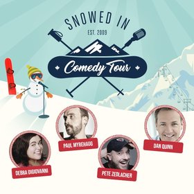 Snowed In Comedy Tour @ Cowichan Performing Arts Centre Jan 17 2020 - Feb 29th @ Cowichan Performing Arts Centre