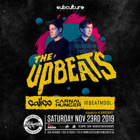 The Upbeats @ The Red Room Nov 23 2019 - Jun 5th @ The Red Room