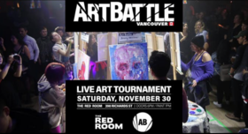 Art Battle Vancouver - November 2019 @ The Red Room Nov 30 2019 - Jun 5th @ The Red Room