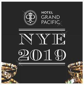 A Grand New Year's Eve Party, featuring Live Music and Dancing: Lust Life Jazz Band, Bryn Badel, Pablo Cardenas Piano, Oscar Cruz  Timbales Coro, Leon Torres Congas, Alan Vance Guitar, Ryan Tandy Bass, Dave Emery Drums, Jeff Cooper Tenor Sax, Espen Lyngberg Trombone @ Hotel Grand Pacific Dec 31 2019 - Oct 27th @ Hotel Grand Pacific
