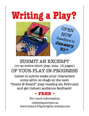OPPORTUNITY FOR PLAYWRIGHTS