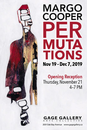 Permutations: Margo Cooper @ Gage Gallery Arts Collective Nov 19 2019 - Oct 30th @ Gage Gallery Arts Collective