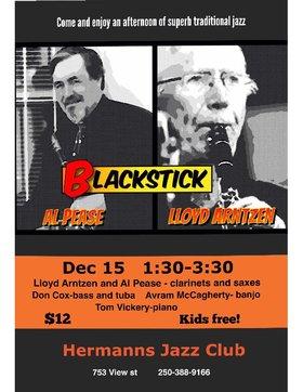 Sunday Matinee Brunch w.: Black Stick Dixieland Band @ Hermann's Jazz Club Dec 15 2019 - Oct 16th @ Hermann's Jazz Club