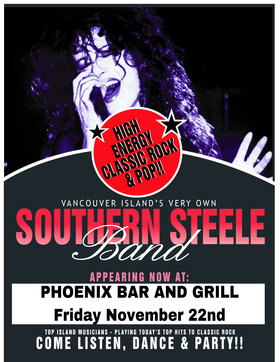 Southern Steele Band @ The Phoenix Bar and Grill Nov 22 2019 - Jan 22nd @ The Phoenix Bar and Grill